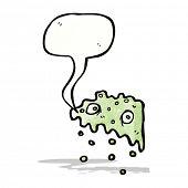 cartoon slime ghost