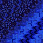 art abstract geometric horizontal stripes pattern background in blue colors