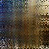 art abstract colorful zigzag geometric pattern background in brown, olive and blue colors