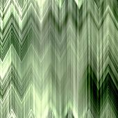 art abstract colorful zigzag geometric pattern background in green and white colors