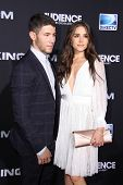 LOS ANGELES - OCT 1:  Nick Jonas, Olivia Culpo at the