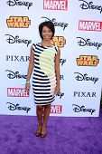 LOS ANGELES - OCT 1:  Angel Parker at the VIP Disney Halloween Event at Disney Consumer Product Pop Up Store on October 1, 2014 in Glendale, CA