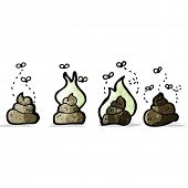 foto of dog poop  - cartoon poop - JPG
