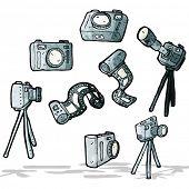 cartoon photography stuff