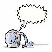 space helmet cartoon