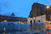 San Petronio In Bologna, Italy