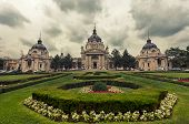 Secheni's Swimming Baths In Budapest, Hungary In Cloudy Weather, Toning