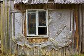 Rotten Window Of The European Slums
