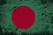picture of bangladesh  - Bangladesh flag Grunge background - JPG