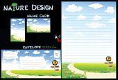 nature design paper set