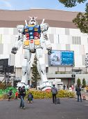 Giant Space Robots