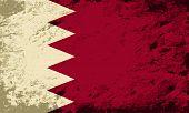 foto of bahrain  - Bahrain flag Grunge background - JPG