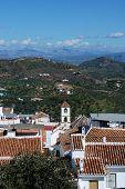 White village, Guaro.