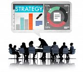Strategy Business Marketing Concept