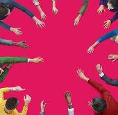 People Multiethnic Group Diversity Community Ethnicity Concept