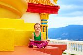 picture of buddhist  - young kid - JPG