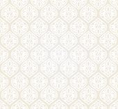Luxury damask seamless motif . Vector