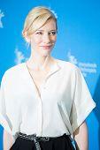 BERLIN, GERMANY - FEBRUARY 13: Cate Blanchett, 'Cinderella' photo-call, 65th Berlinale International Film Festival at Grand Hyatt Hotel on February 13, 2015 in Berlin, Germany