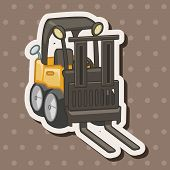 image of excavator  - Transportation Excavator Truck Theme Elements - JPG