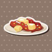 image of chinese menu  - Chinese Food Theme Elements - JPG
