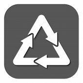 picture of waste disposal  - The waste processing icon - JPG