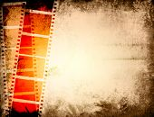 grunge film strip backgrounds