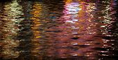Multicolor Water Reflections