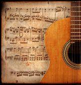 Anitique Guitar