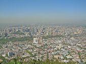 A Cloud Of Smog Hangs Over Santiago De Chile #2