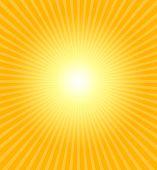 Sol quente de Verão