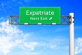 Highway Sign - Expatriate