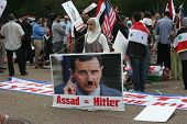 Syria Protests at White House 3