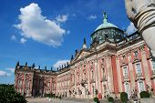 The New Palace (german: Neues Palais) Is A Palace Situated On The Western Side Of The Sanssouci Park poster