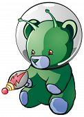 Teddy Bear Alien