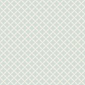 Retro Vintage Seamless Pattern. Abstract Vector Texture With Curved Geometric Shapes, Crosses, Grid, poster
