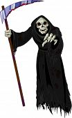 Halloween horrible Grim Reaper