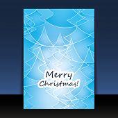 Flyer Kerstmis of Cover ontwerp