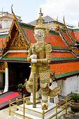Giant In Wat Phra Kaeo, The Royal Grand Palace - Bangkok, Thailand.