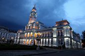 The Town Hall in Arad