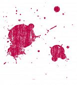 Grunge Splat Hintergrund ist transparent, so dass sie auf andere Abbildungen oder die Bilder überlagert