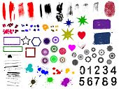 Over 90 Grunge elements - Highly Detailed vector grunge elements Separately grouped and layered for