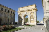 triumphal arch Montpellier, France