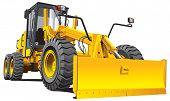 Yellow Roadgrader