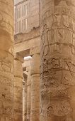 Columns At Precinct Of Amun-re In Egypt