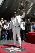 LOS ANGELES - MAY 2: Actor-rapper Sean 'P Diddy' Combs attends the ceremony honoring him with a star