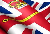 Flag Of British Lord Lieutenant.