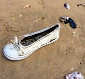Cinderella at the beach.