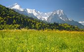 Landscape In The Bavarian Alps