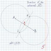 Vector, Bisection Of The Interval