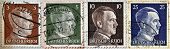 Adolf Hitler On Stamp